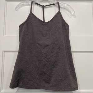 Athleta T back tank top - like new